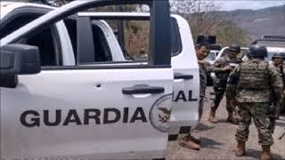Los vídeos de la cobarde emboscada del CJNG en la que murieron dos elementos de la GN
