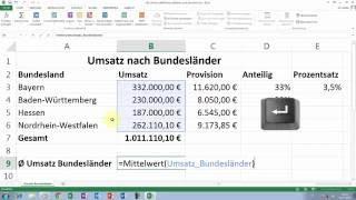 Excel Tipps und Tricks #36 Namen definieren, editieren und löschen