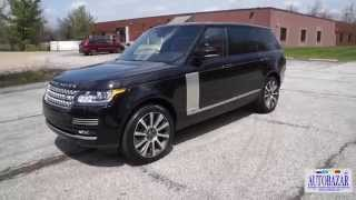 2014 Range Rover Autobiography Long тест драйв. Видео Рендж Ровер Автобиография Лонг 2014