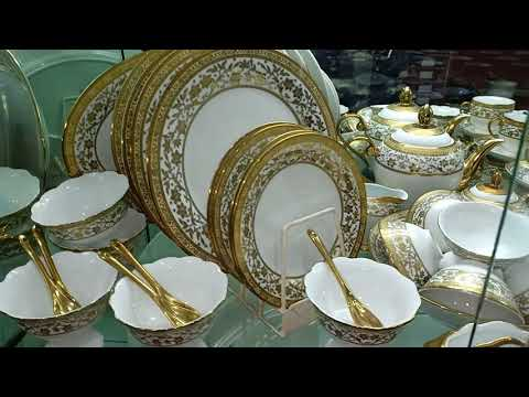 12000 Only Golden Dinner Set