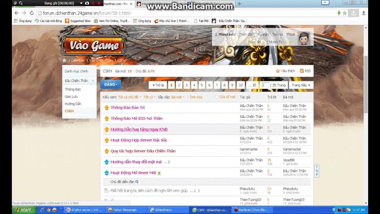 http://dchienthan.24game.vn/ game siêu lag, siêu lỗi bỏ mặc game thủ - Hay  là thể loại game lậu???