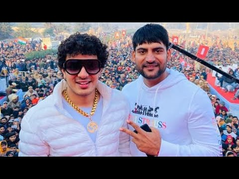 MOTO मोटो 🎤 #Ajay_Hooda | Diler_kharkiya MD Rewari Marathon 2020 Ajay Hooda दिलेर खरकिया Live Dil