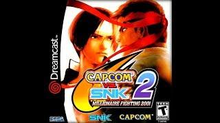 Capcom vs. SNK 2: Millionaire Fighting 2001 DREAMCAST - Chun-li/Guile/Sakura (REQUEST)
