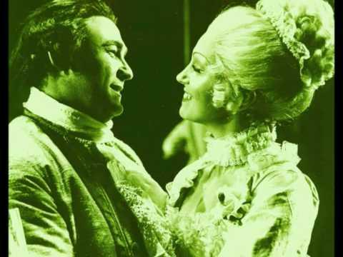 Robin Donald (tenor) & Valerie Masterson (soprano) sing Manon Act1 Duet