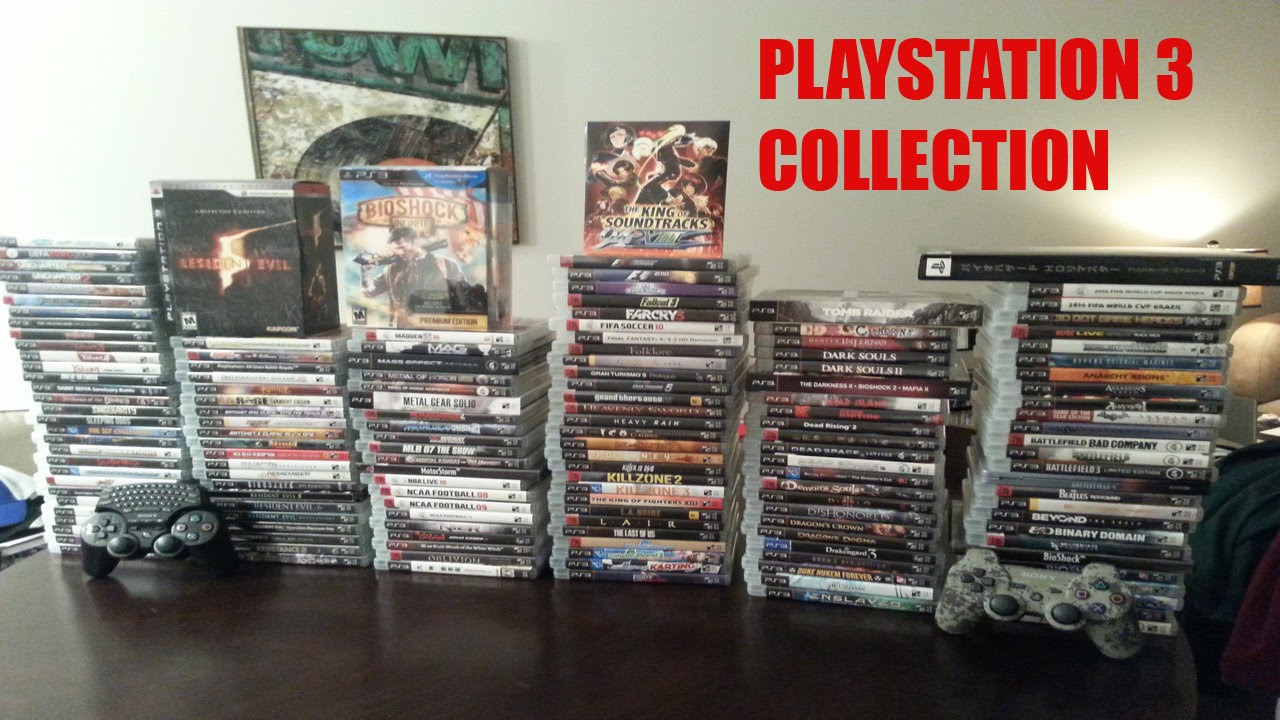 A Game That Starts With A Ps3 : My ps game collection youtube