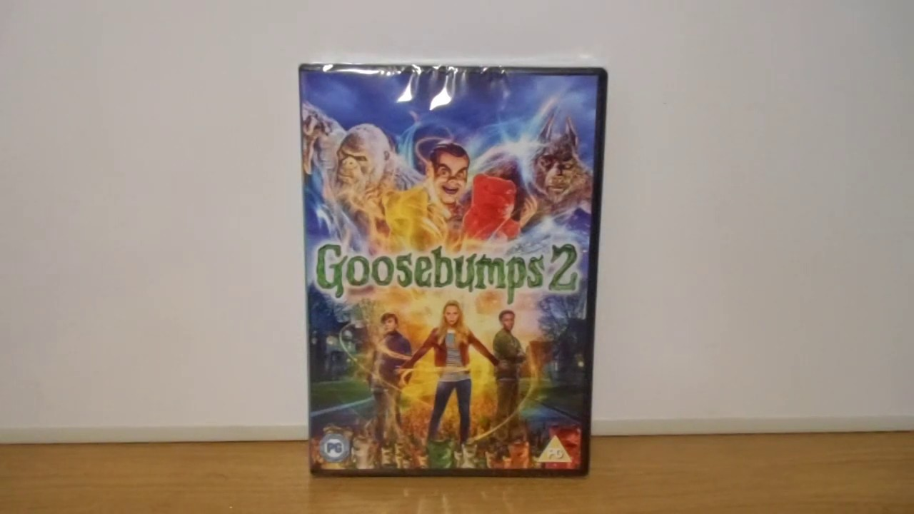 Goosebumps 2 Uk Dvd Unboxing By Samdjanreviews