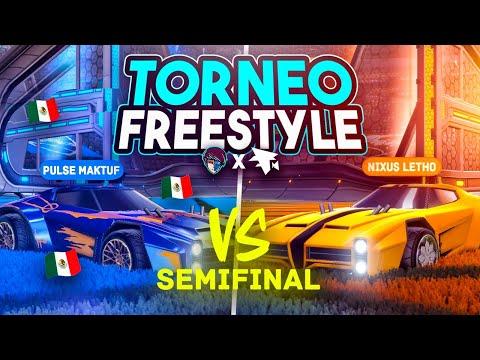 SEMIFINAL MAKTUF VS LETHO 🚀 TORNEO DE FREESTYLE 1vs1 FLAMEC x DUALVIEW   ROCKET LEAGUE