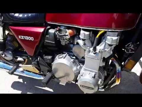 Kawasaki KZ 1300 with DG 6-1 Header - YouTube
