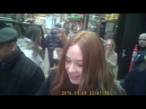 Karen Gillan Star Of Doctor Who And Guardians Of The Galaxy At Good Morning America