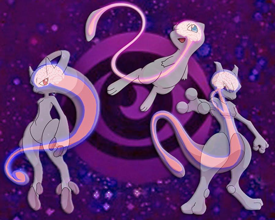 Pokemon Theory - Mew & Mewtwo's Psychic Power - YouTube