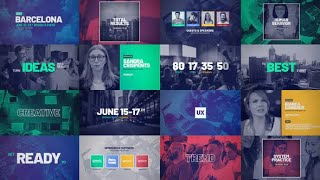 The Online Event Promo ★ After Effects Template ★ AE Templates