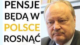 Szewczak: Pensje w Polsce chcąc nie chcąc będą rosły. Będziemy musieli nakłaniać 60-latków do pracy