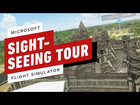 Microsoft Flight Simulator: 14 of the World's Most Famous Landmarks