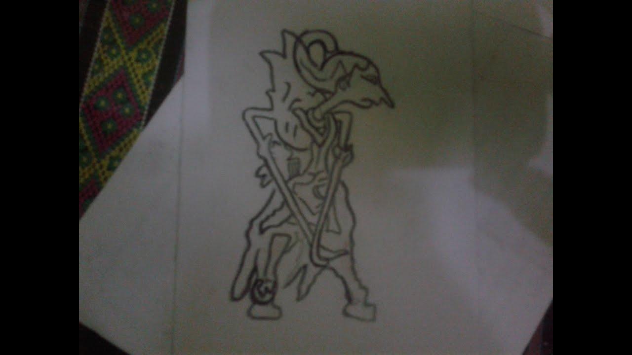 28 Gambar Sketsa Wayang Arjuna