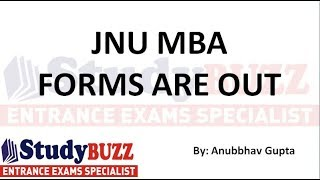 JNU MBA forms are out- Important dates, selection process, how to apply