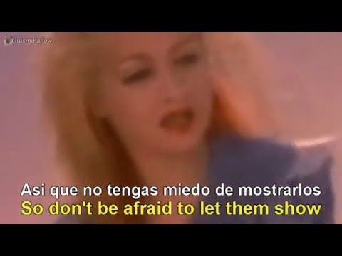 Cyndi Lauper - True Colors [Lyrics English - Español Subtitulado]