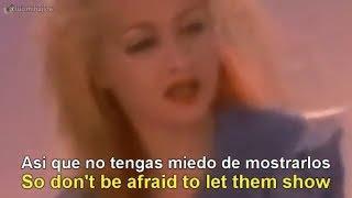 Cyndi Lauper - True Colors [Lyrics English - Español Subtitulado]