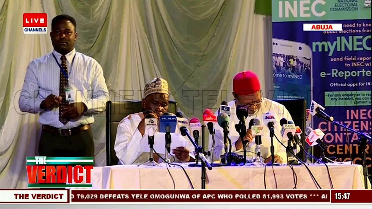 2019 Presidential Election: INEC Announces Nasarawa