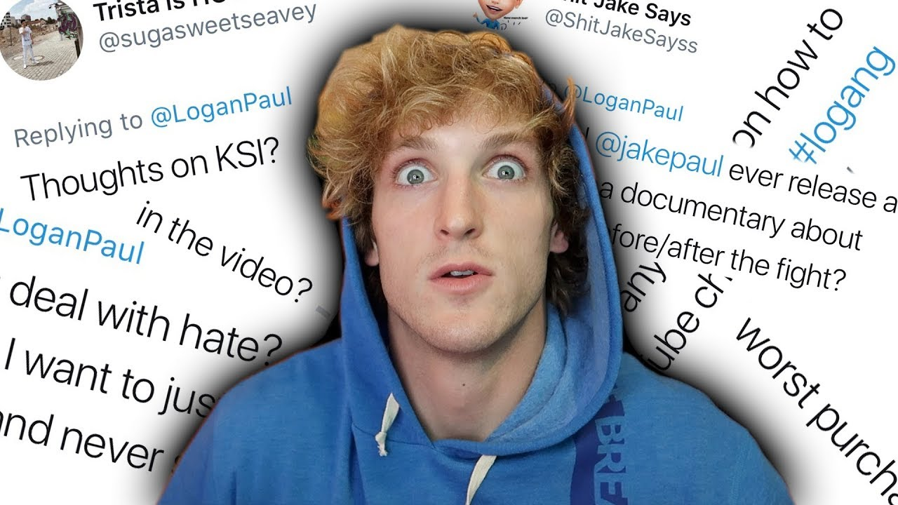 21 SAVAGE QUESTIONS WITH LOGAN PAUL!