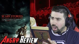 Scary Stories to Tell in the Dark Angry Movie Review