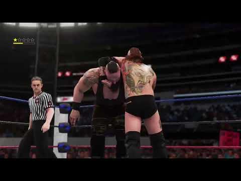 Wrestlemania 2 Aleister black VS Braun Strowman for the APW United States Championship