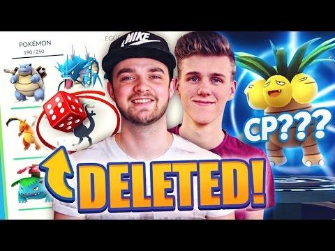 Pokemon GO - BEST POKEMON DELETED! (Evolution Challenge w/ Ali-A + Lachlan)