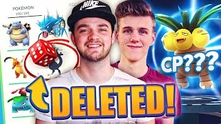 Pokemon GO - BEST POKEMON DELETED! (Evolution Challenge w/ Ali-A + Lachlan)