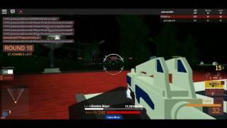 Roblox Gokussjr does Zombiecon Part 2