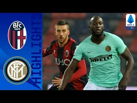 Bologna 1-2 Inter | Lukaku Scores Two Late Goals as Inter Win at Bologna | Serie A