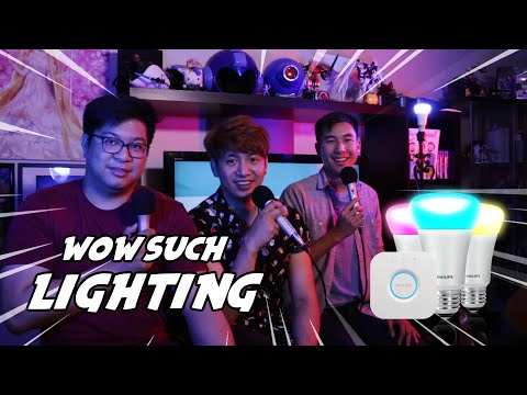 HOW TO MAKE YOUR VIDEOS AND STREAMS LIT | PHILIPS HUE STARTER KIT REVIEW