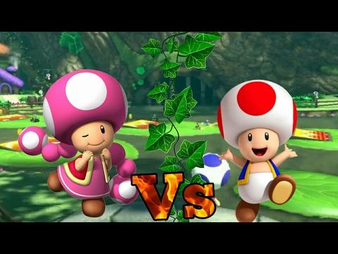 Wii U - Mario Kart 8 - Toad Vs Toadette #Toadthegreat ...