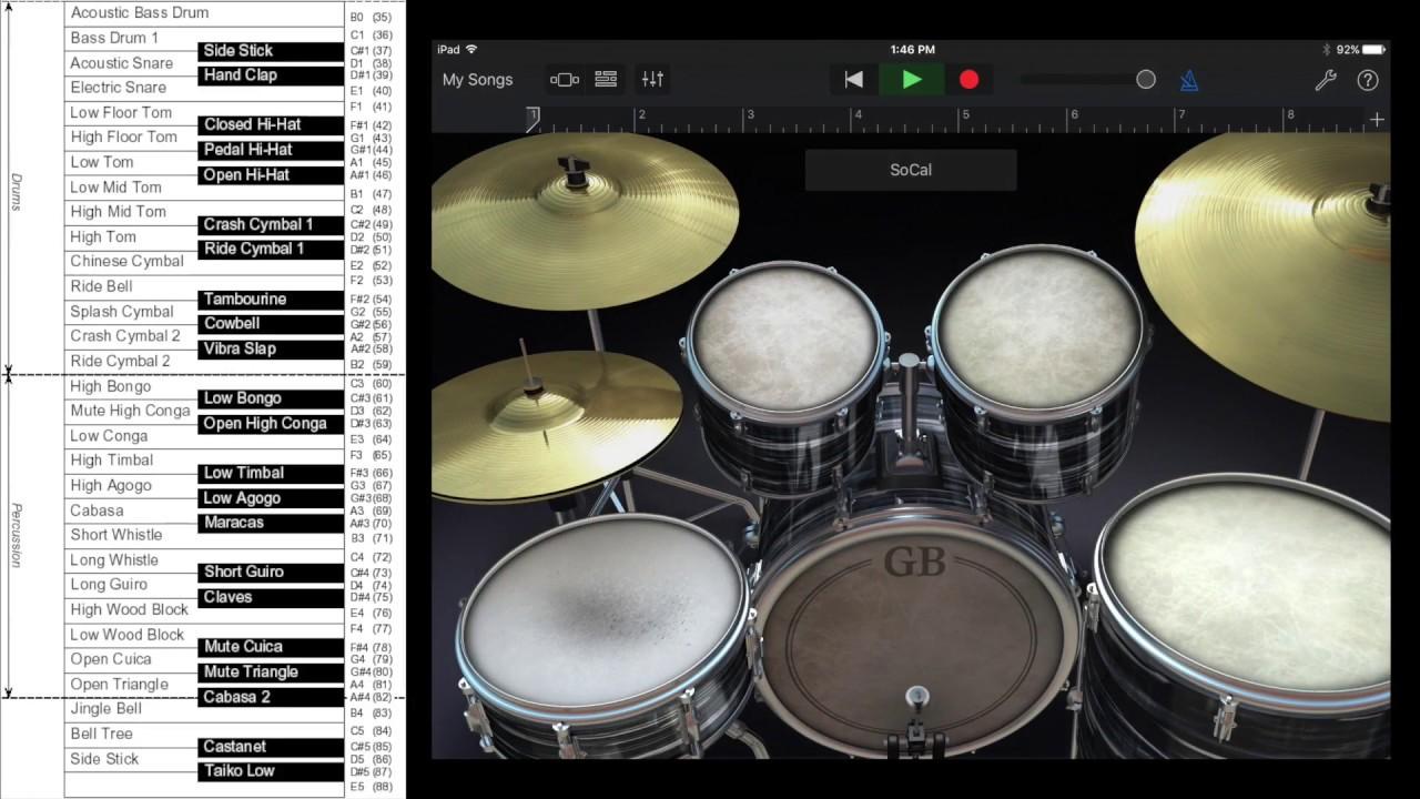 ever wonder how midi drums get mapped jamstik youtube. Black Bedroom Furniture Sets. Home Design Ideas