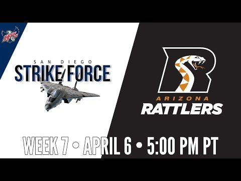 Week 7 | San Diego Strike Force at Arizona Rattlers
