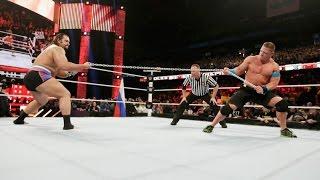 Full Match Action | WWE John Cena Vs Rusev | 2016