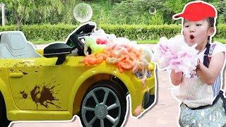 마슈 장난감 자동차 세차놀이 Toys Car Wash Cleaning - 마슈토이 Mashu ToysReview