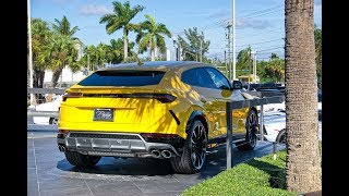 5 Lamborghini URUS Delivered to Lamborghini Miami The World's Best SUV Interior Exterior