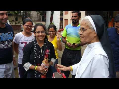 Entertaining Rain Dance & Games at Apostolic Carmel Convent, Bandra 1