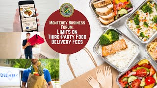 Business Forum on Third-Party Food Delivery Fees - YouTube