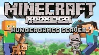 minecraft xbox 360 hunger games server