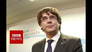 Puigdemont: Spain carrying out offensive on Catalonia  - BBC News
