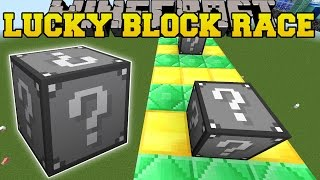 Minecraft: EXTREME DARK SIDE LUCKY BLOCK RACE - Lucky Block Mod - Modded Mini-Game