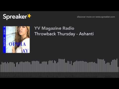 Throwback Thursday - Ashanti