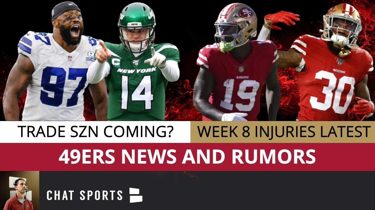 49ers Trade Rumors Ft. Sam Darnold & Everson Griffen + Injury Latest on Jeff Wilson & Deebo Samuel