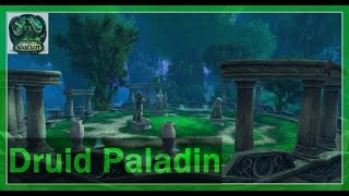 Resto Druid & Retribution Paladin - Arena 2v2 PVP Games - WoW Legion Gameplay