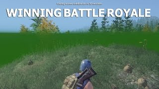 H1Z1 - Winning Battle Royale - Solo and team
