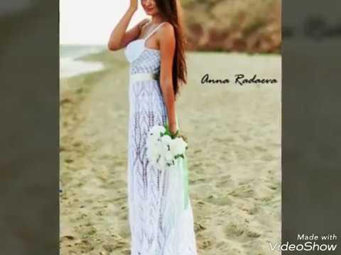 Patrones de vestidos de novia tejidos a crochet
