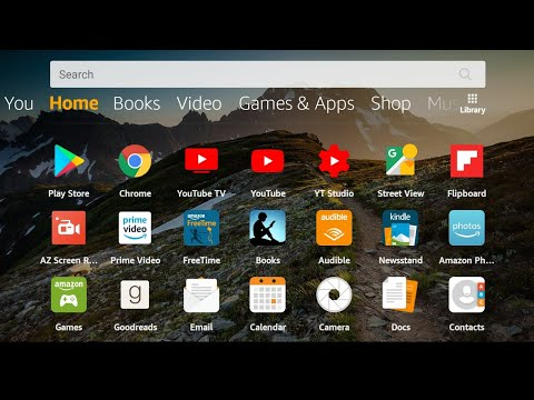 Amazon Fire Tablet - Add Google Play Store - And Voice Keyboard, Chrome, YouTube TV...
