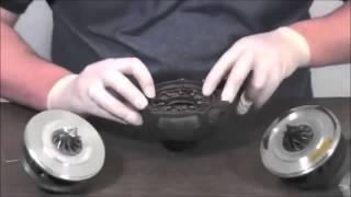Turbolader Reparatur -Turbolader Rumpfgruppen Einbauanleitung YouTube 360p