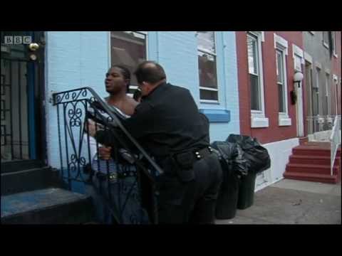 Arrests in Philadelphia - Louis Theroux - BBC