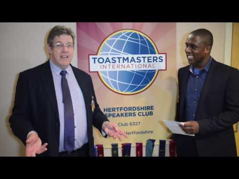 Toastmasters  20 years   Bob Ferguson